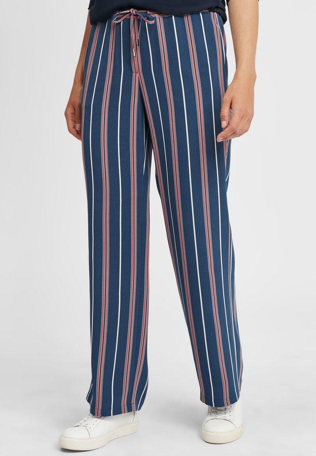 Kalhoty - marine/rot