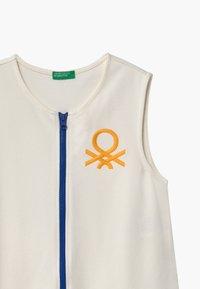 Benetton - EUROPE GIRL - Žerzejové šaty - white - 2