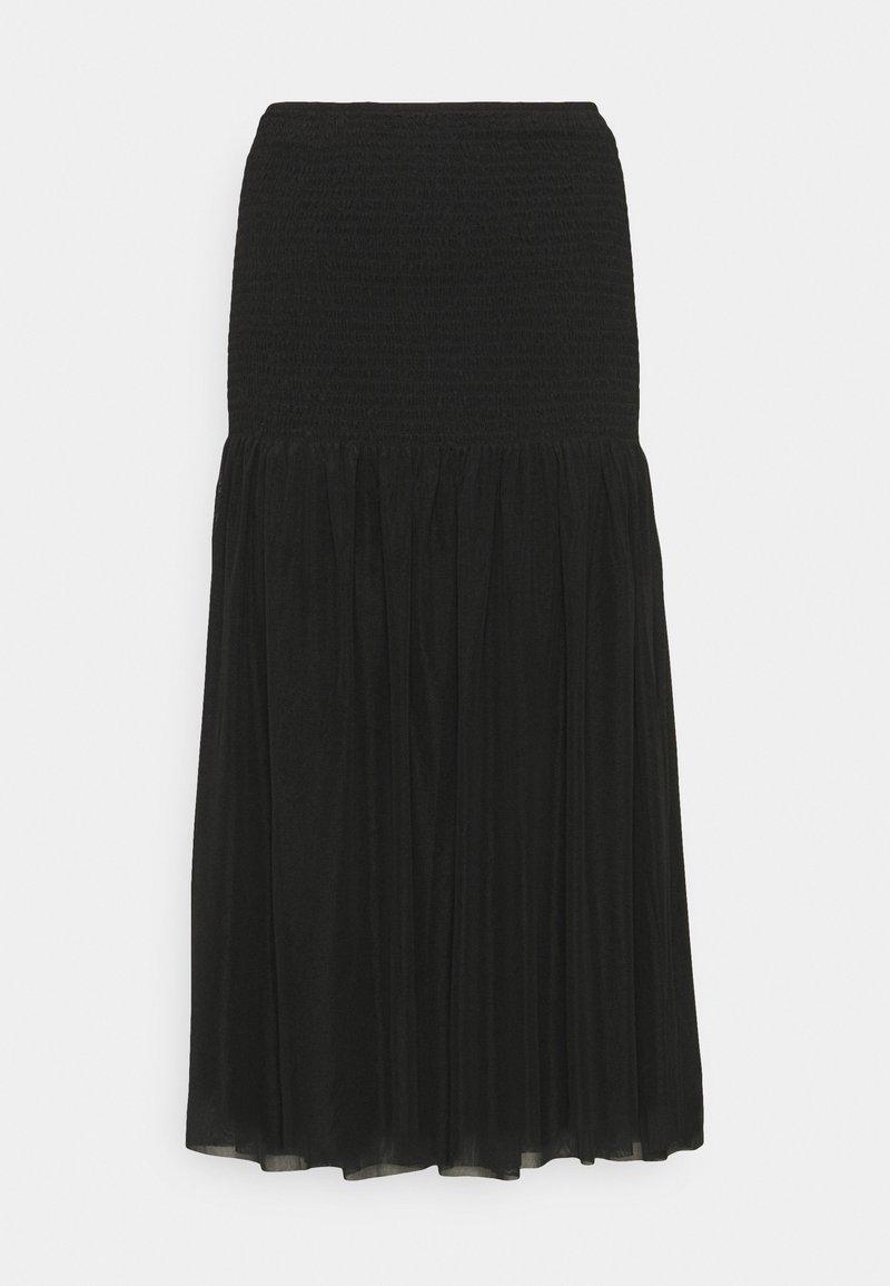 Bruuns Bazaar - THORA MEXA SKIRT - A-line skirt - black