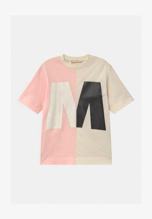 MAGLIETTA UNISEX - Print T-shirt - quartz rose
