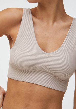 WITH STRATEGIC SUPPORT  - Reggiseno sportivo con sostegno medio - beige