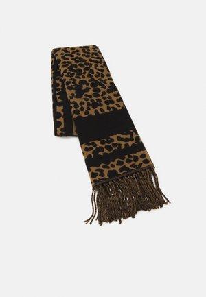 Huivi - camel/black