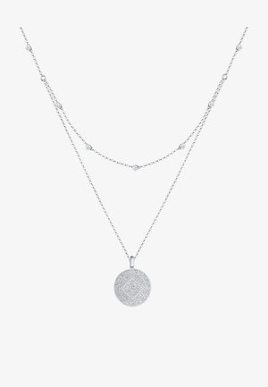 GLASS CRYSTAL - Necklace - silber