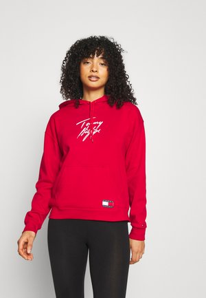 HOODIE - Pyjama top - primary red