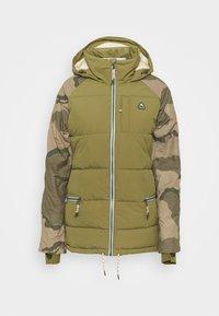KEELAN - Snowboardová bunda - olive