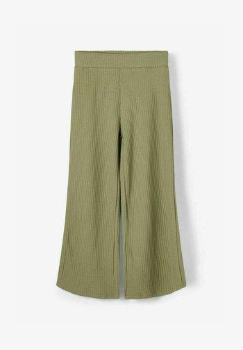 Trousers - deep lichen green