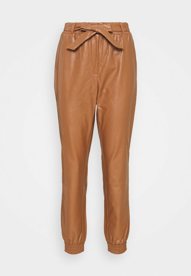 CRILLE PANT - Pantaloni - cognac