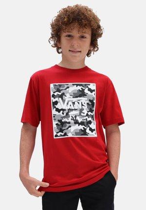 BY PRINT BOX BOYS - T-shirt con stampa - chilippr/prmrycmoblk/trwt