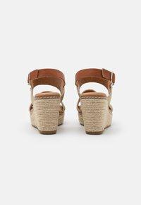 XTI - High heeled sandals - gold - 3