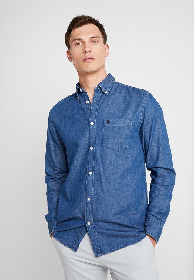 NOOS - Shirt - medium blue denim
