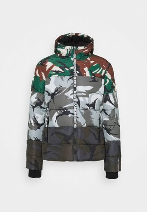 CAMO MIX SPORTS PUFFER - Talvitakki - multi-coloured
