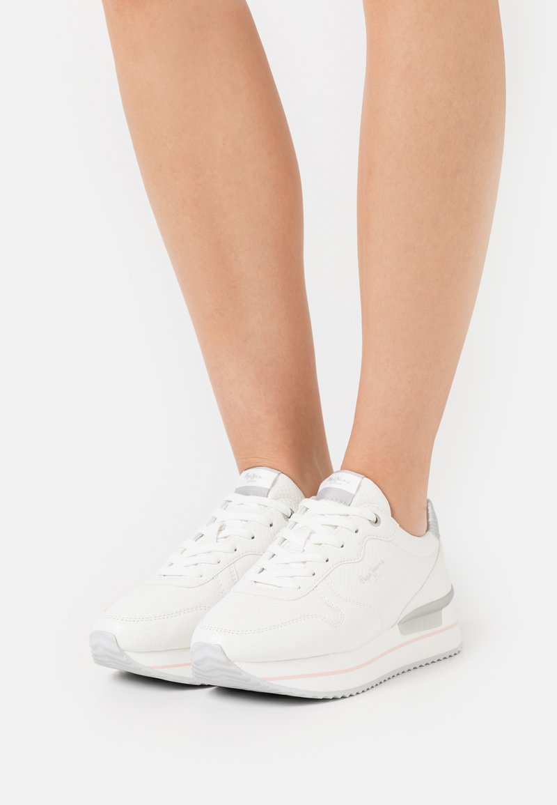 Pepe Jeans - RUSPER BELL - Trainers - offwhite