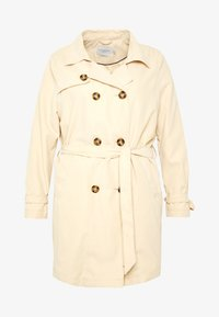 JUNAROSE - by VERO MODA - JRNEWTUKKA TRENCH COAT - Trenčkot - pebble - 3