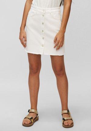 Denim skirt - multi/bright white