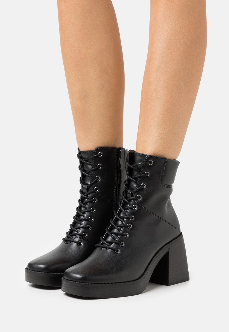 RAID - ALMAH - Bottines à lacets - black