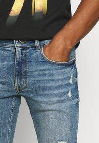 Redefined Rebel - STOCKHOLM DESTROY - Jeans Skinny Fit - speed blue - 3