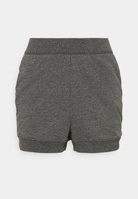 CORE SHORT - Pantalones deportivos - black/dark smoke grey