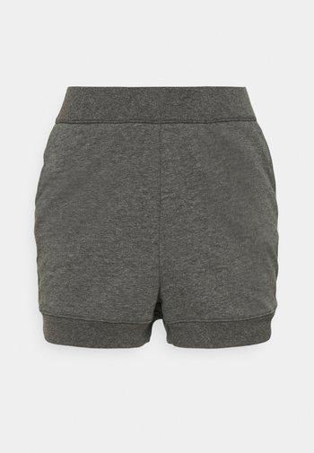 CORE SHORT - Joggebukse - black/dark smoke grey