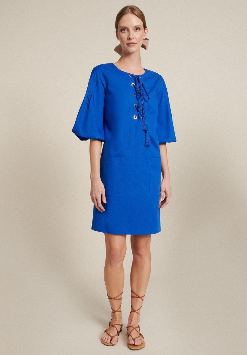 Luisa Spagnoli - Denní šaty - bluette