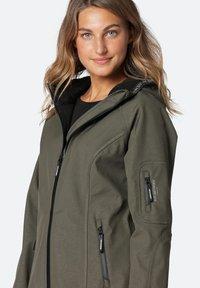 Ilse Jacobsen - Waterproof jacket - army - 0