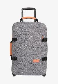 Eastpak - TRANVERZ S UNDEFINED  - Wheeled suitcase - black/white - 1