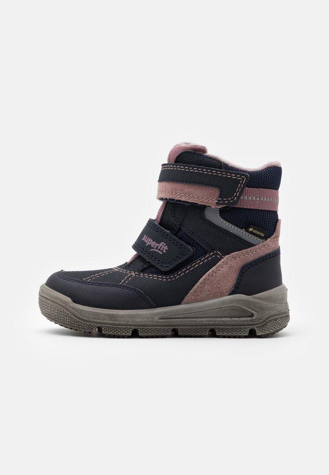 MARS - Winter boots - blau/lila