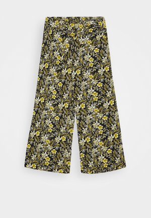NKFVINAYA WIDE PANT - Trousers - spicy mustard