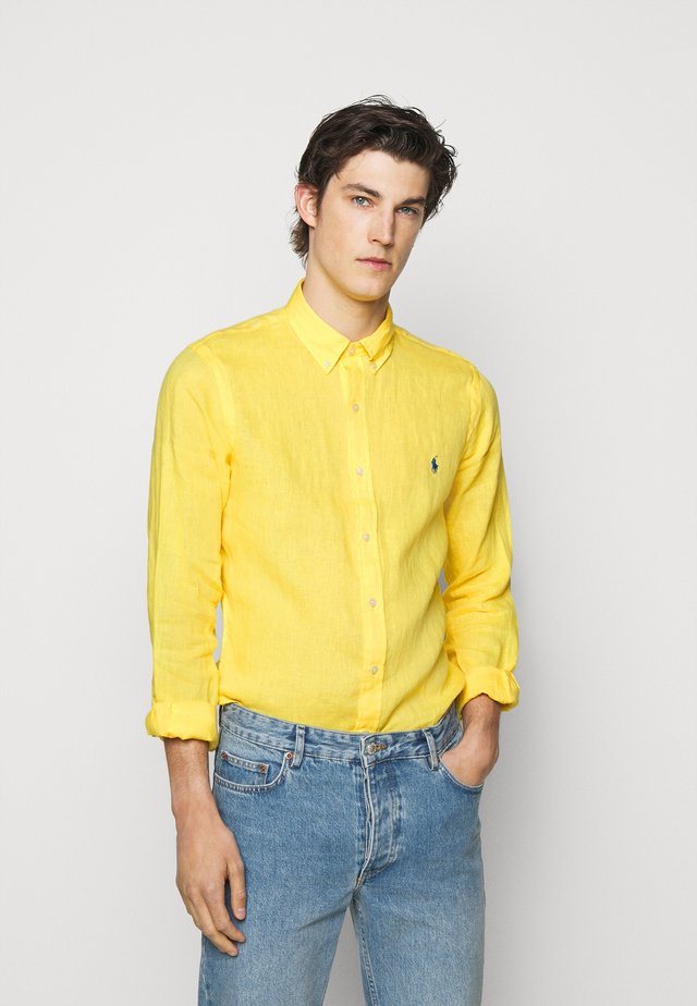 PIECE - Chemise - signal yellow
