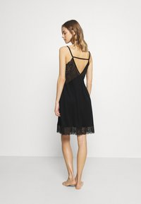 Hanro - WANDA DRESS - Nightie - black - 2