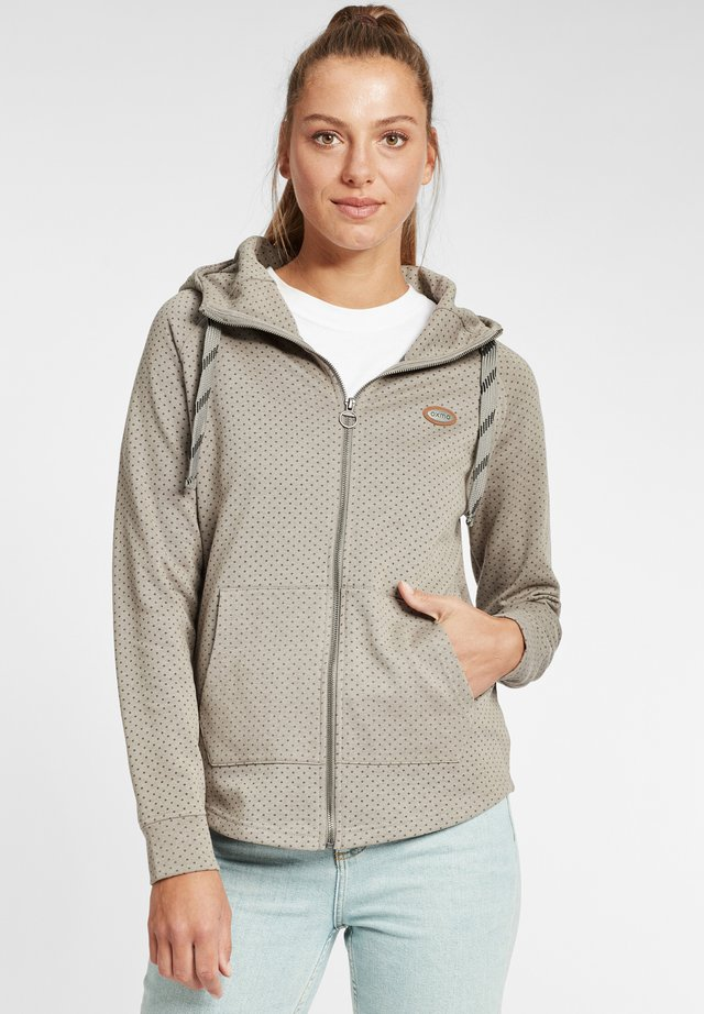 AMALIA - veste en sweat zippée - grey melange
