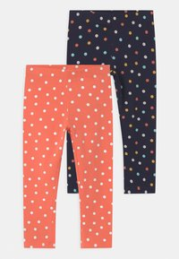 Name it - NMFVIVIAN 2 PACK - Leggings - persimmon - 0