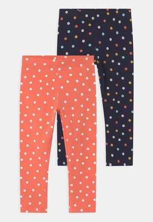 NMFVIVIAN 2 PACK - Leggings - Trousers - persimmon