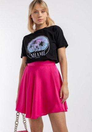 T-SHIRT CLASSIC MIAMI - CZANY - T-shirt z nadrukiem - black