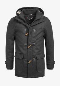 INDICODE JEANS - ERVIN - Short coat - charcoal mix - 5