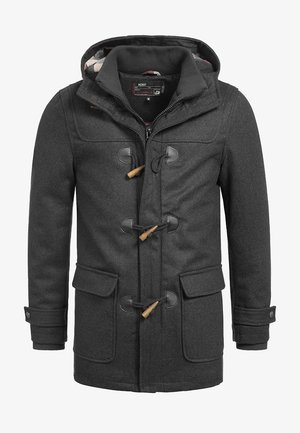 ERVIN - Cappotto corto - charcoal mix