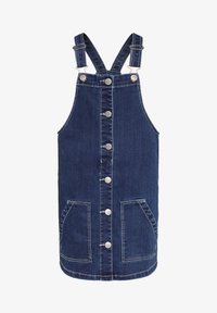 WE Fashion - SALOPETTE - Denim dress - blue - 0