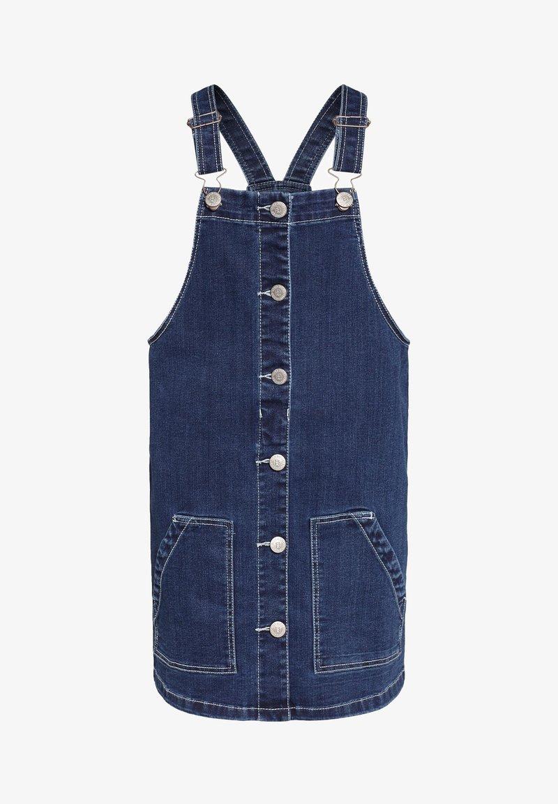 WE Fashion - SALOPETTE - Denim dress - blue