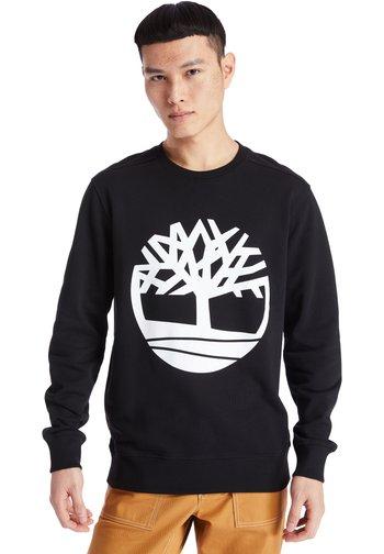 CORE TREE LOGO CREW - Sweatshirt - black-white