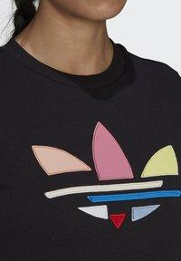adidas Originals - Print T-shirt - black - 3