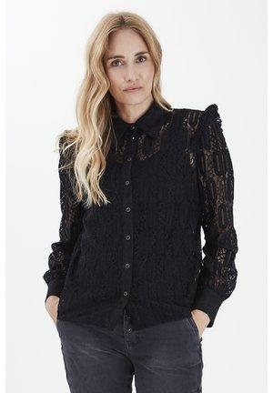 PZDARISSA  - Button-down blouse - black beauty