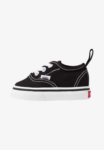 AUTHENTIC ELASTIC LACE - Slip-ons - black/true white