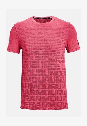 T-shirt print - pink shock