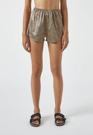 Pyjama bottoms - mottled brown
