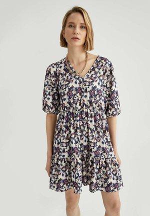 FLOWER PRINT - Day dress - purple