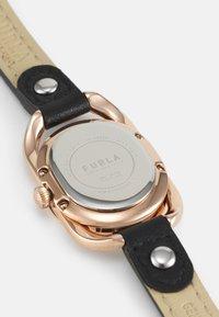 Furla - STUDS INDEX - Watch - black/rosegold-coloured - 2