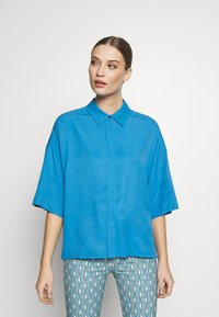 DRYKORN - THERRY - Button-down blouse - blue - 0