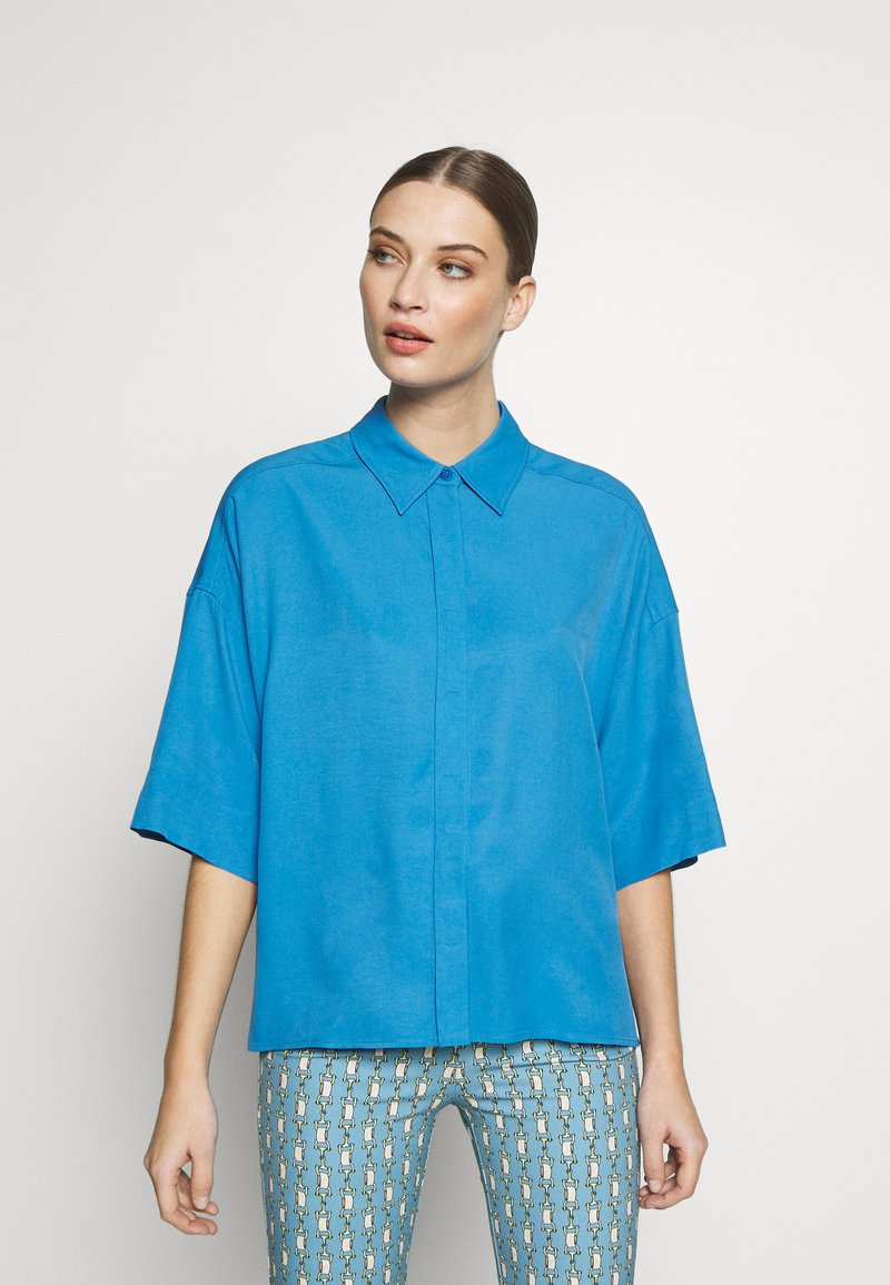 DRYKORN - THERRY - Button-down blouse - blue