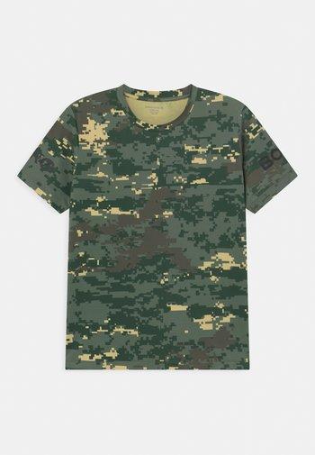 UNISEX - T-shirt print - duck green