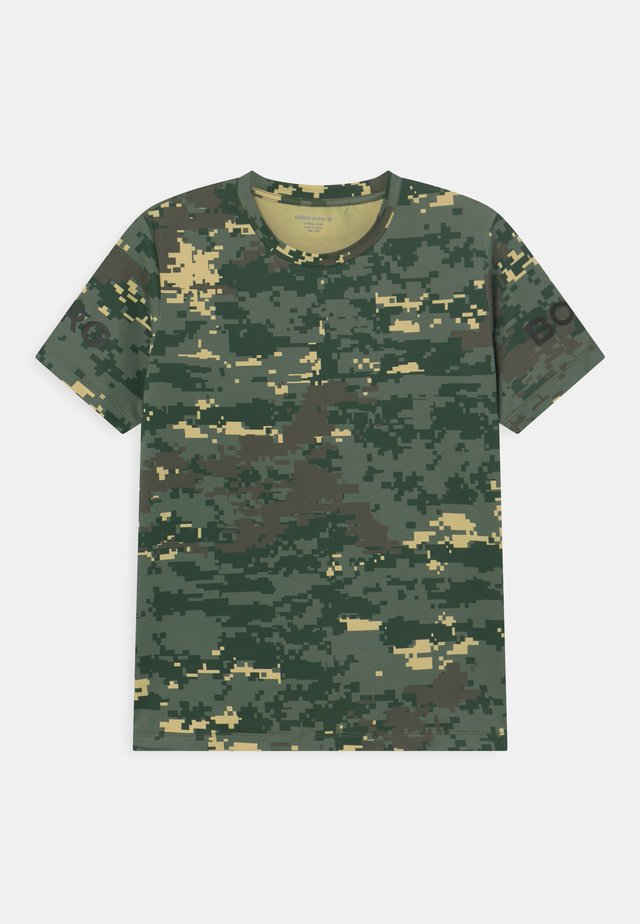 UNISEX - T-shirt imprimé - duck green