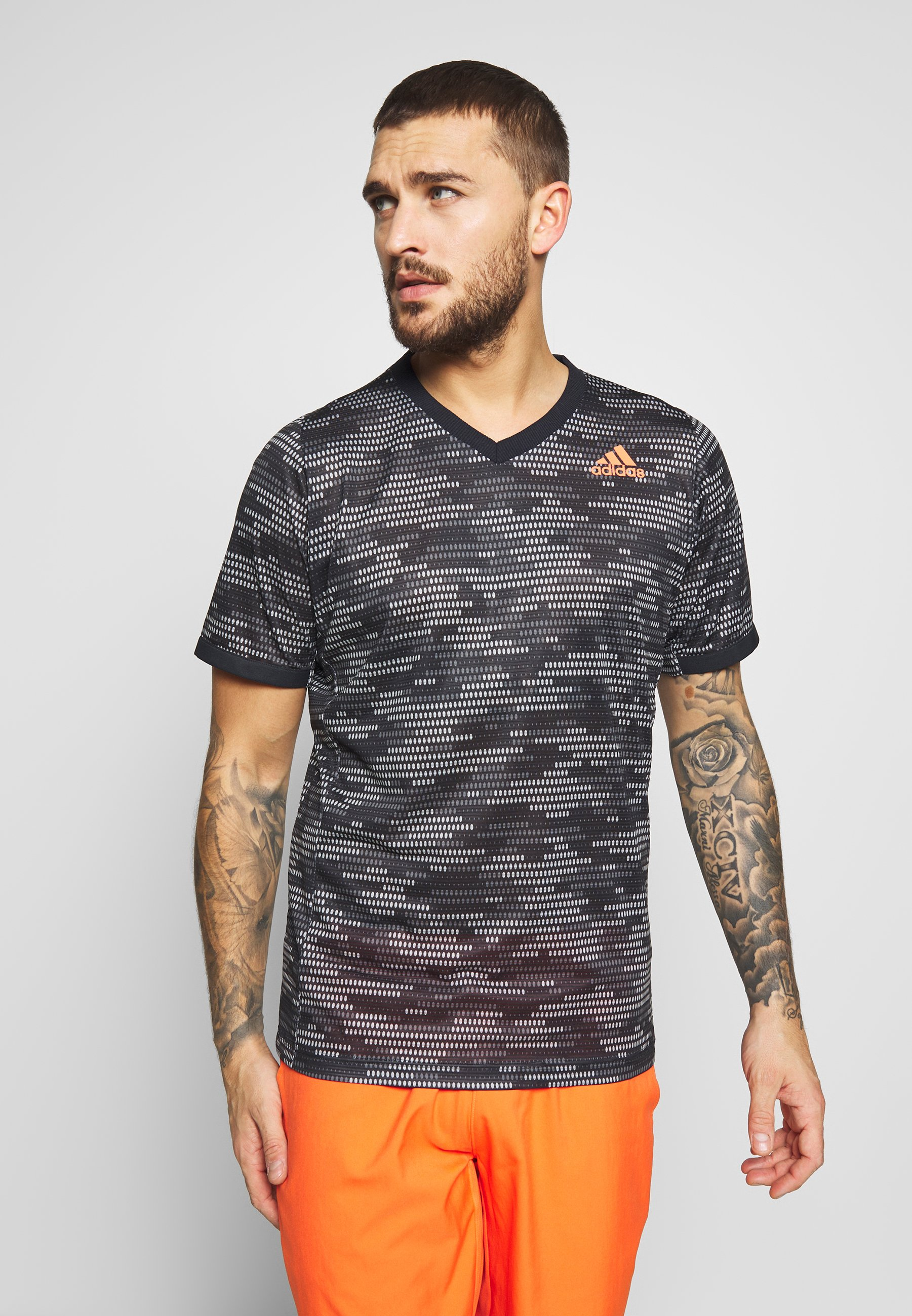 adidas Performance T Shirt print blacktruora Zalando.at